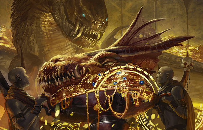Hedonists-Trove-Dragons-of-Tarkir-MtG-Art